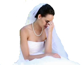 Upset Bride